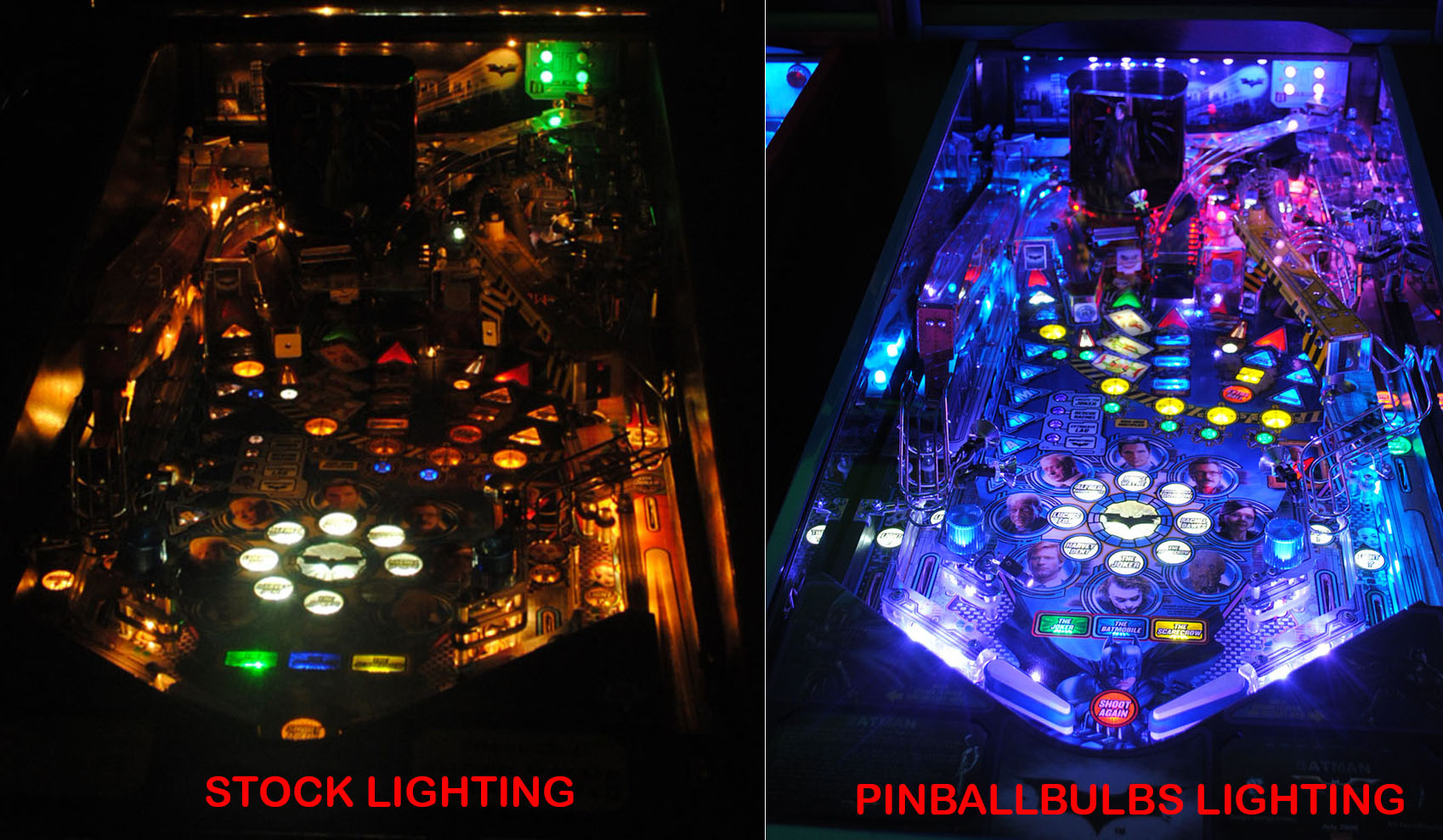 Pinball LED Lighting Kits & LED Lighting Kits | Highest Quality Pinball LEDs | Pinball Bulbs
