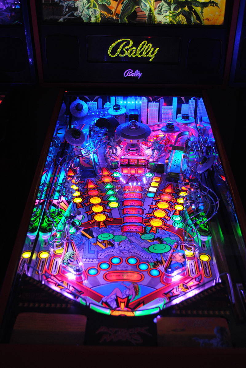 High quality attack from mars pinball ultimate led Ultimate lighting