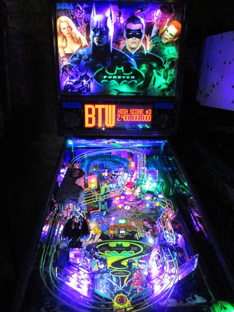High Quality Batman Forever Pinball Ultimate Led Lighting