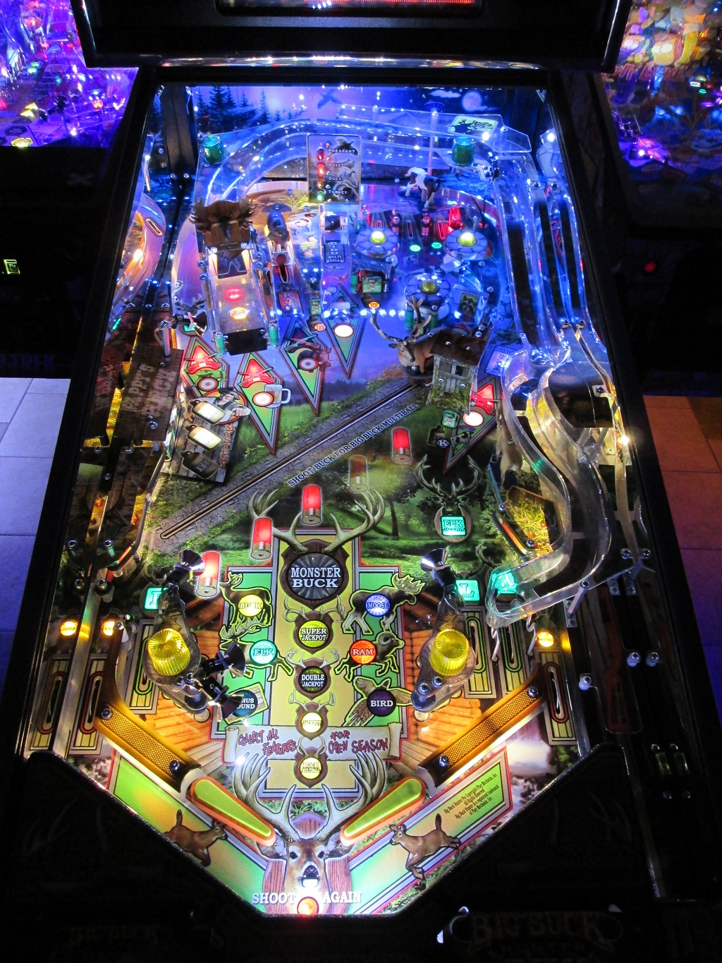 High Quality Big Buck Hunter Pinball Ultimate Led Lighting