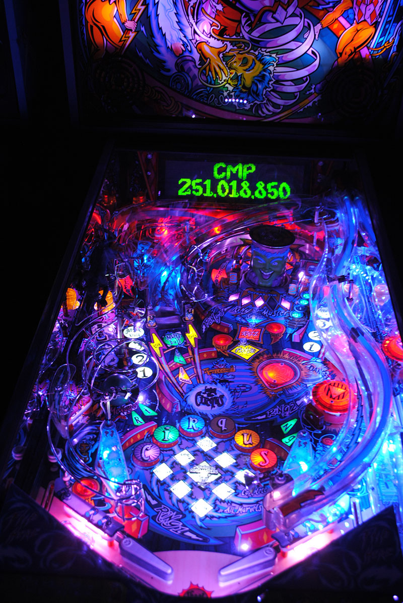 Frosted Light Bulbs >> High Quality Cirqus Voltaire Pinball Ultimate LED Lighting ...