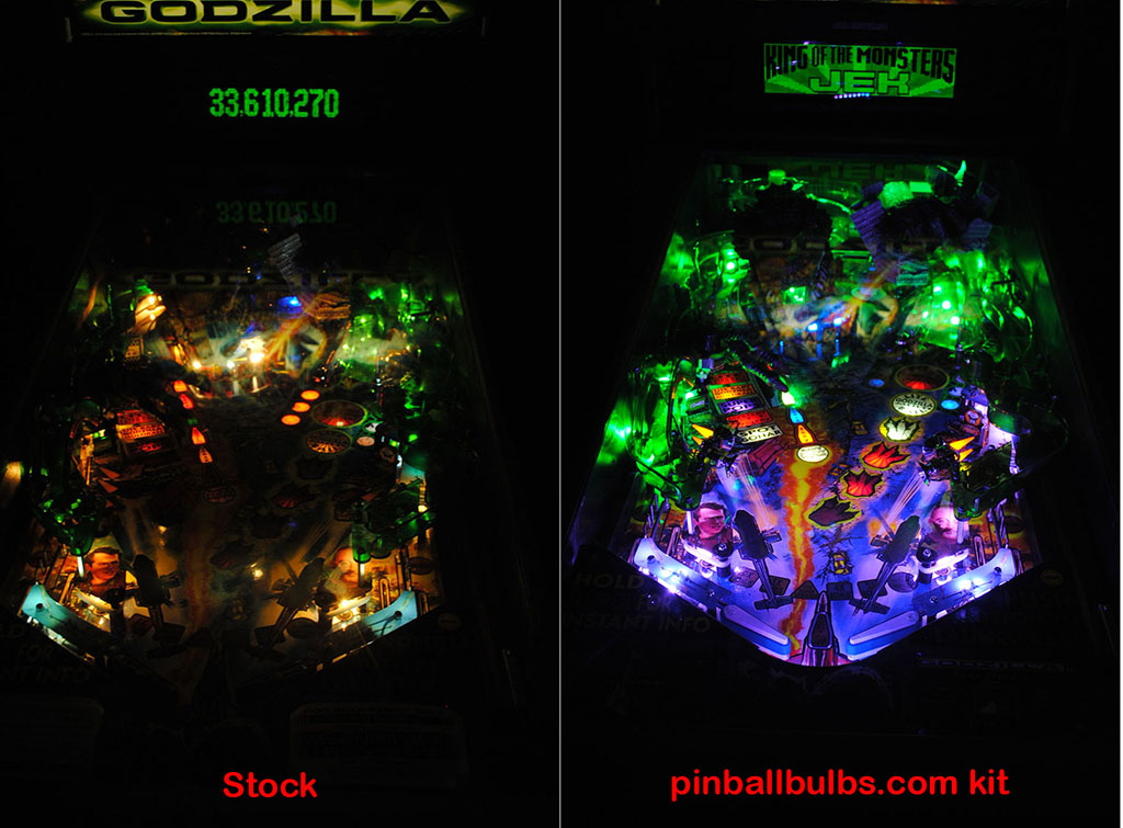 High Quality Godzilla Pinball Ultimate Led Lighting Kit