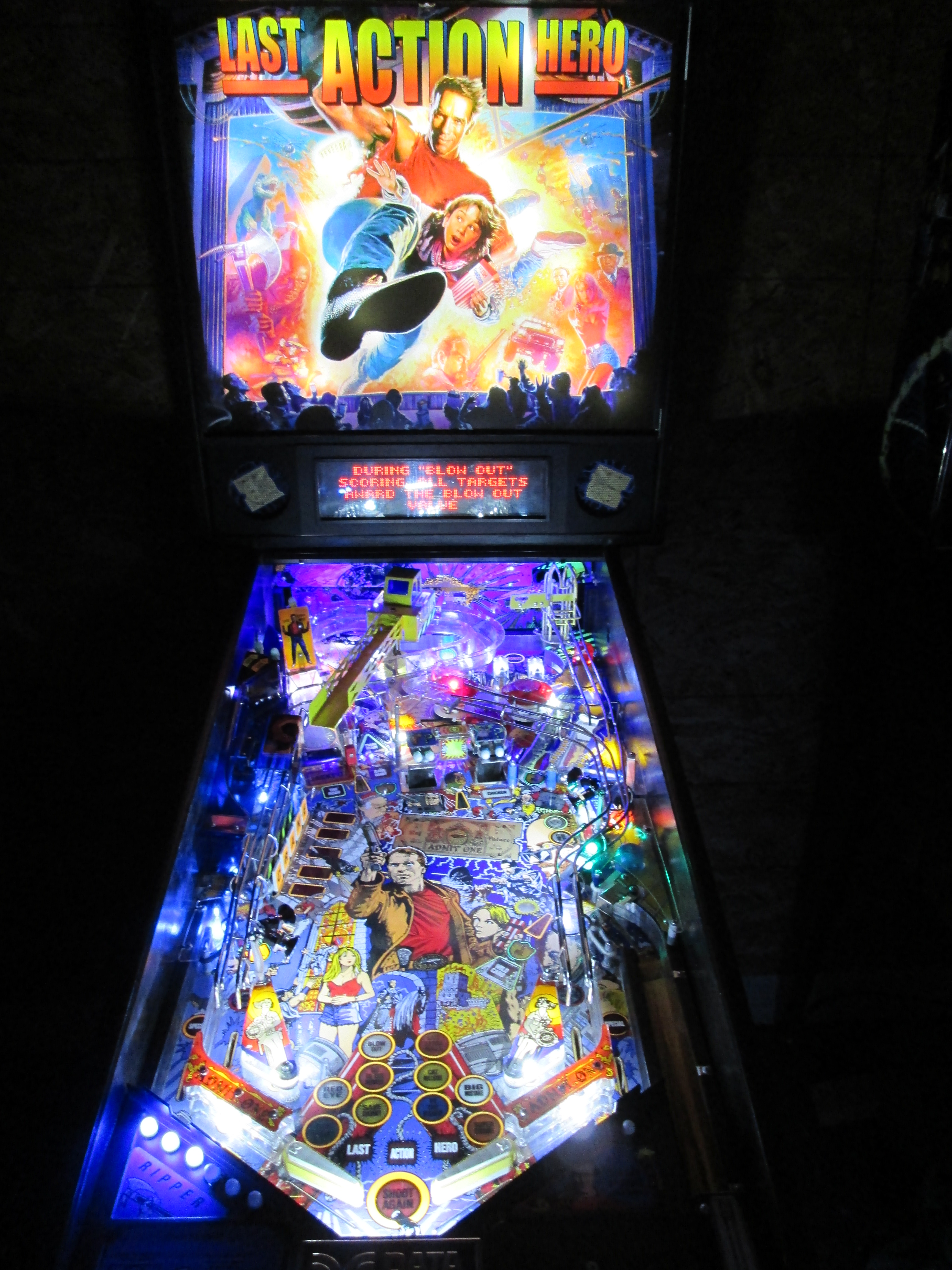 Frosted Light Bulbs >> High Quality Last Action Hero Pinball Ultimate LED ...