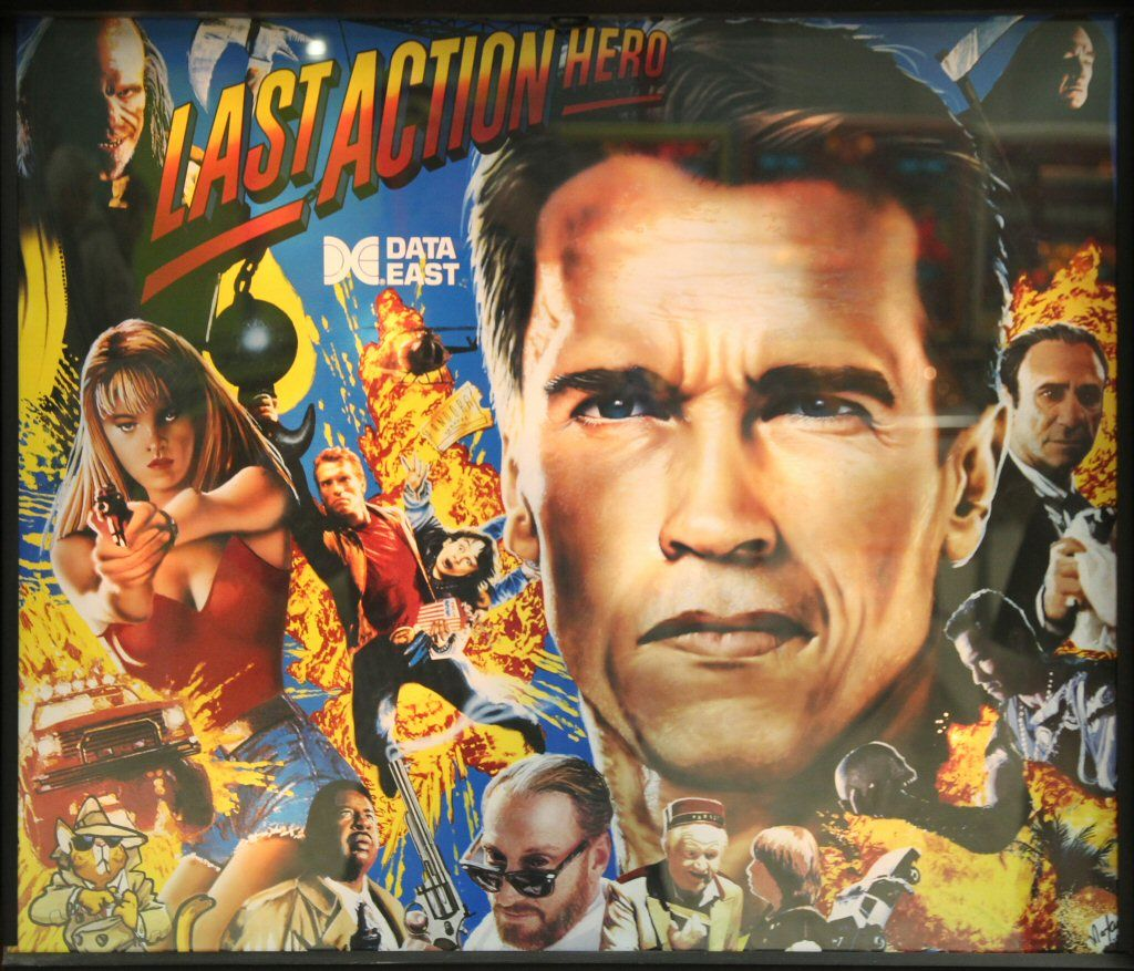 High Quality Last Action Hero Pinball Ultimate Led