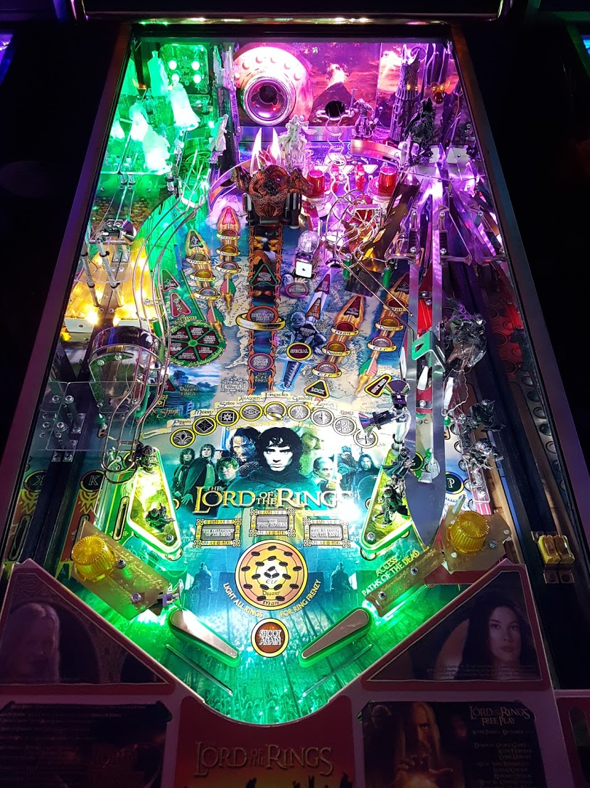 Frosted Light Bulbs >> High Quality Lord of the Rings Pinball Ultimate LED ...