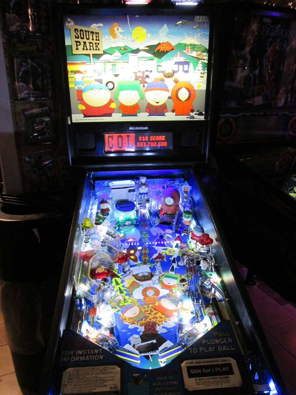 High Quality South Park Pinball Ultimate Led Lighting Kit
