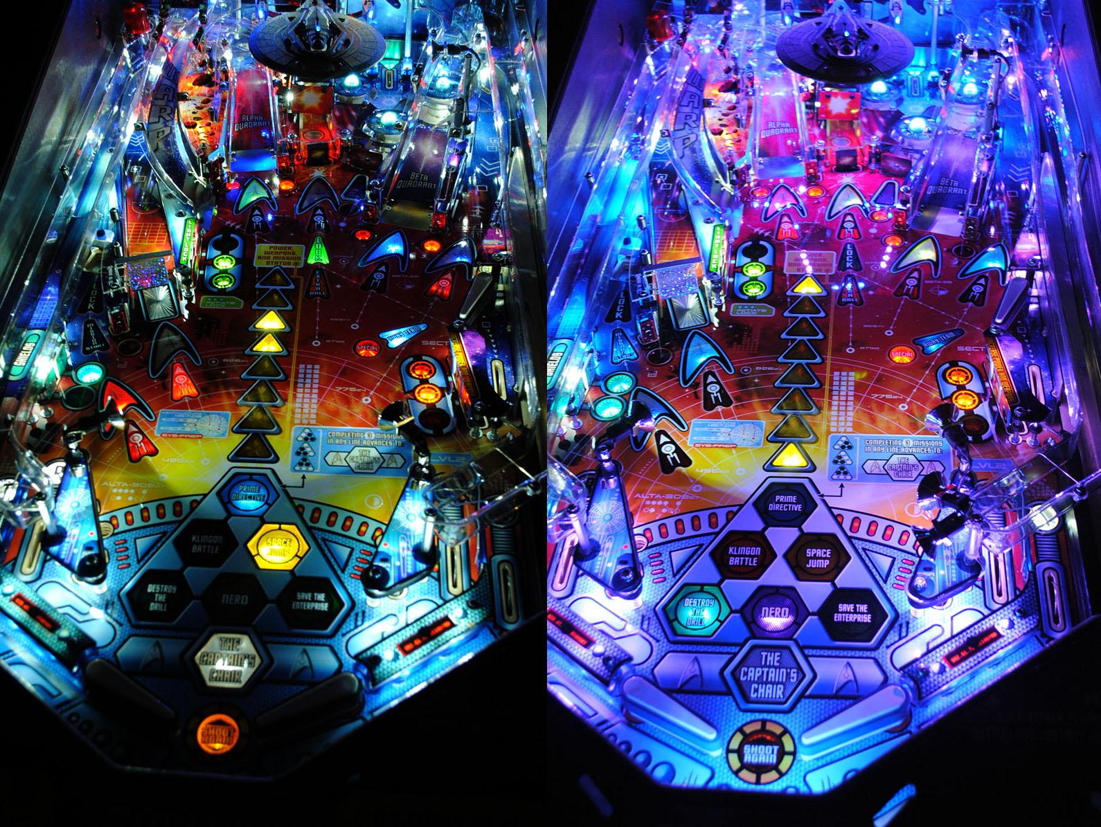 High Quality Star Trek Pinball Ultimate LED Lighting Kit