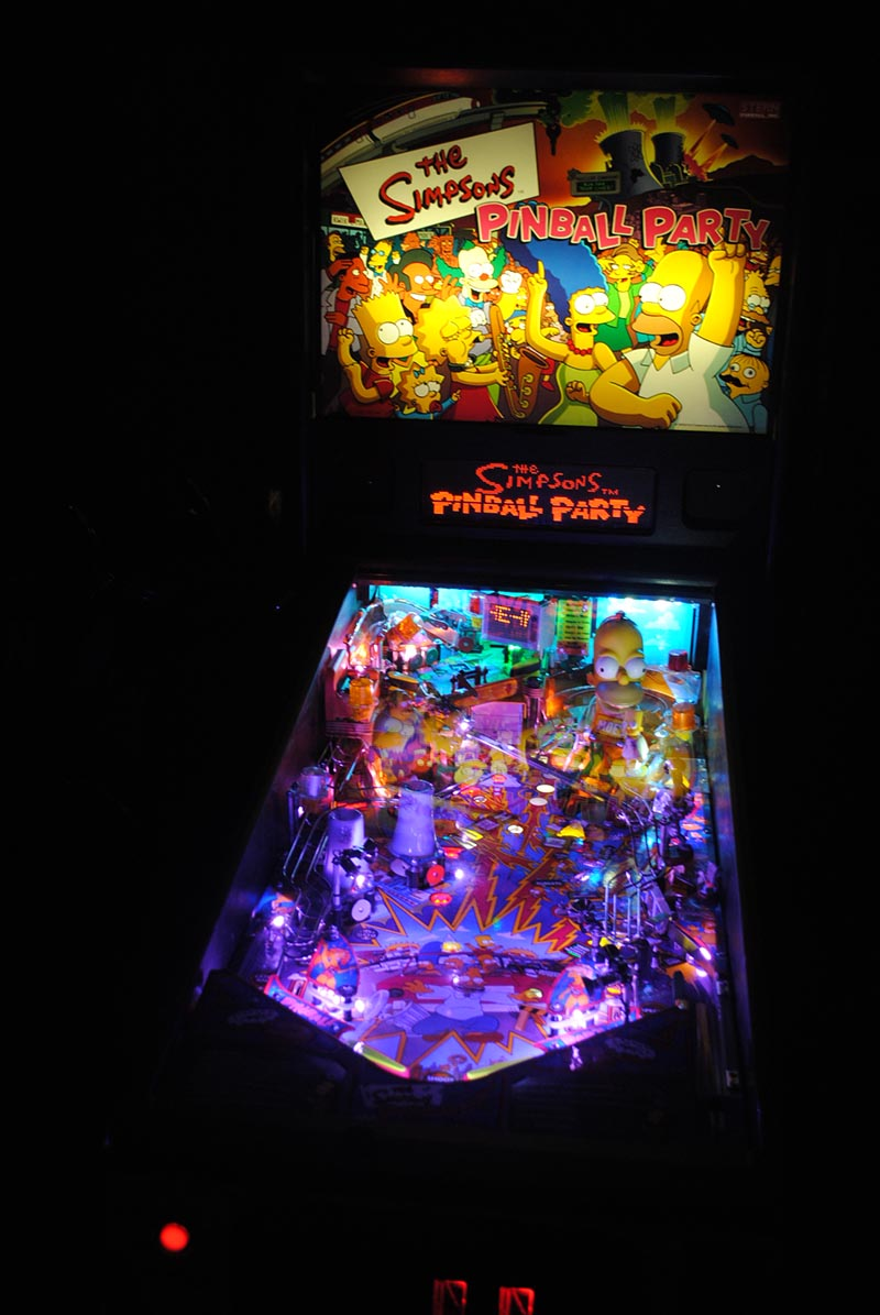 High quality simpsons pinball party pinball ultimate led Ultimate lighting