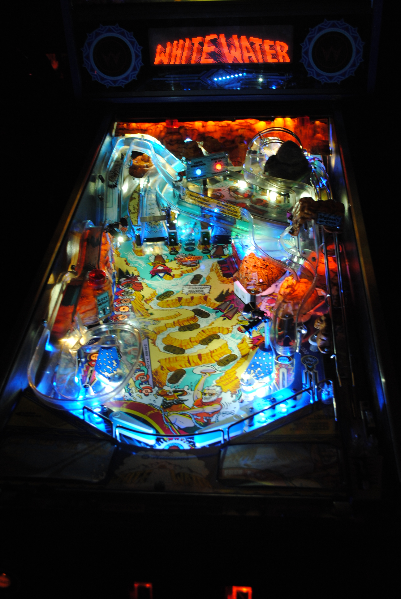 High Quality White Water Pinball Ultimate Led Kit Stock
